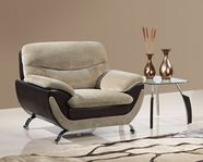 Global Furniture U4160-CHAMP FROTH/CHOC-C Champion Froth Chair