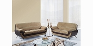 Global Furniture U4160-CHAMP FROTH/CHOC-S+L+C Champion Froth Sofa And Loveseat And Chair