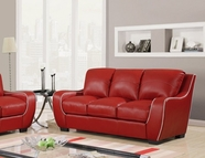Global Furniture U8080-RED -S Red Sofa