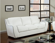 Global Furniture U8080-WH -S White Sofa