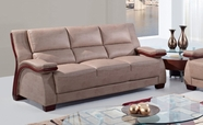 Global Furniture UA1411-S Bonded Leather Sofa