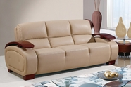 Global Furniture UA223-CAPP-S Bonded Leather Sofa