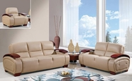 Global Furniture UA223-CAPP-S+L+C Bonded Leather Sofa And Loveseat And Chair