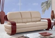 Global Furniture UA230-CAPP-S Leather/Match Sofa