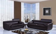 Global U7090-CHOC-S-L Sofa Set
