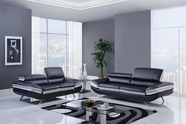 Global U7110-Bl-Lgr-S-L Sofa Set