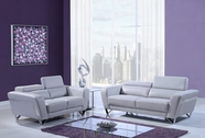 Global U7120-Lgr-S-L Sofa Set