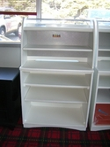 GOF White BOOKCASE