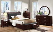 Home Elegance 1737NC-1-2-3Q-5-6 Bedroom Set