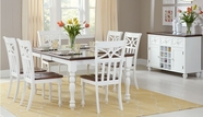 Home Elegance 2119W-78-2119WS Dining Set