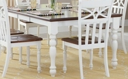 Home Elegance 2119W-78 DINING TABLE