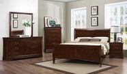 Home Elegance 2147-1Q-5-6 Bedroom Set