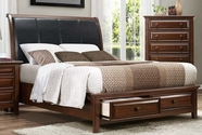 Home Elegance 2157-1-2-3 Queen Bed