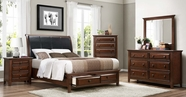 Home Elegance 2157-1Q-5-6 Bedroom Set