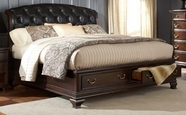 Home Elegance 2166K-1-2-3EK Eastern King Bed