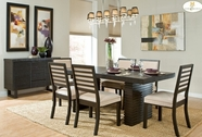 Home Elegance 2455DC-78-B-2455DCS Dining Set