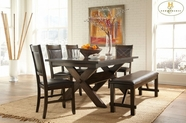 Home Elegance 2499DC-90-B-2499DCS Dining Set