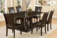Home Elegance 2539-B-2539BRS Dining Set