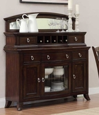 Home Elegance 2546-40-M SIDEBOARD AND W/MIRROR