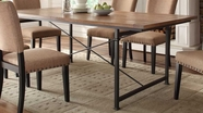Home Elegance 2555-84 Dining Table (Fixed Top)
