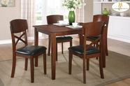 Home Elegance 2558 5-Piece Pack Dinette Set