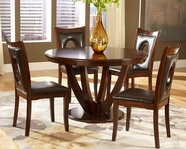 Home Elegance 2568-48-2568BRS Dining Set