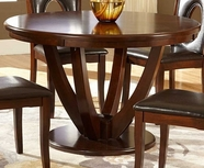 Home Elegance 2568-48 ROUND DINING Table