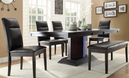 Home Elegance 2579-78-B-C-2579S Dining Set