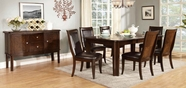 Home Elegance 2600-78-2600PUS Dining Set