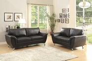 Home Elegance Chaska 8523BLK Sofa Set