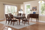Home Elegance Creswell 5056-78-5056S Dining Table Set