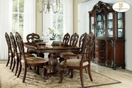 Home Elegance Deryn Park 2243-114-114B-2243S Dining Table Set