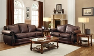 Home Elegance Midwood 9616Brw Sofa Set