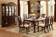 Home Elegance Norwich 5055-82-5055S Dining Table Set
