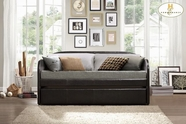 Home Elegance Roland 4950-A-B Day Bed With Trundle