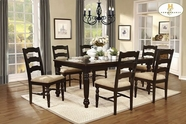 Home Elegance Sutherlin 5049-78-5049S Dining Table Set