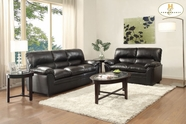 Home Elegance Talon 8511BK Sofa Set