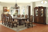 Home Elegance Thurmont 5052-118-118B-5052S Dining Table Set