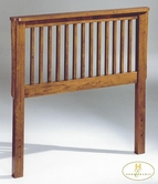 Homelegance 103 Twin Headboard, Solid Wood Oak Mission