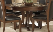 Homelegance 1205-54 Avalon Round Pedestal Dining Table