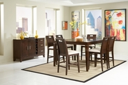 Homelegance 1330-36-24X4 Keller Counter Height Dining Set