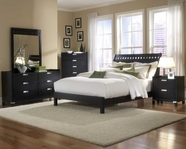 Homelegance 1347-1-5-6 Bella Bedroom Collection in Black