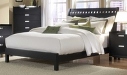 Homelegance 1347-1 Bella Queen Bed in Black