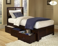 Homelegance 1348PR-1 Twin Captain Bed