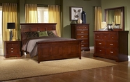 Homelegance 1349-1-5-6 Glamour Brown Bedroom Collection