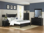 Homelegance 1356Bk-1-5-6 Morelle Bedroom Set