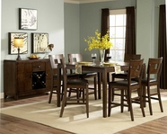 Homelegance 1379-36-24X4 Baldwin Hills Counter Height Dining Set