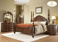 Homelegance 1390K-1 California King Poster Bed
