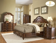 Homelegance 1390Lpk-1 Low Profile King Bed