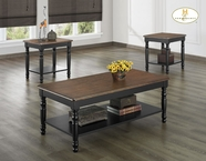 Homelegance 1393BK-31 3PC PACK OCC TABLE, B
